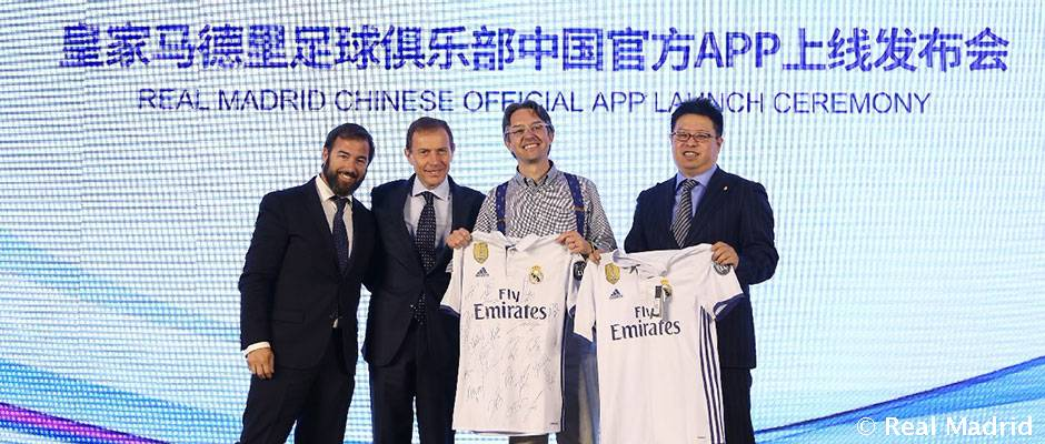 Real Madrid expands its App for China